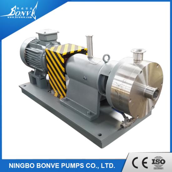 High shear emulsifying mixers