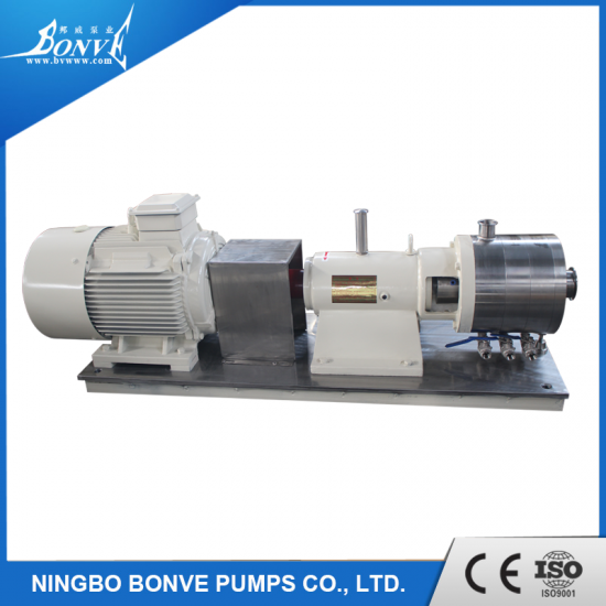 Inline high shear mixers